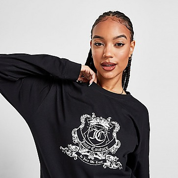 Juicy Couture Crest Long Sleeve T-Shirt