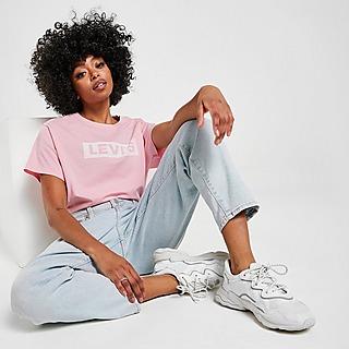 Levis Box Tab Crop T-Shirt Dame