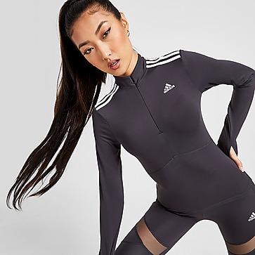 adidas Shine 1/4 Zip Long Sleeve Top