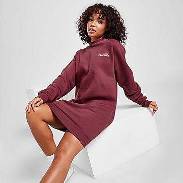 Ellesse Logo Crew Sweatshirt Dress