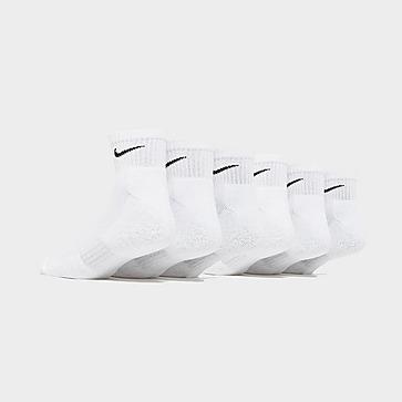 Nike 6-Pack Everyday Cushioned Ankle Socks