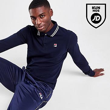 Fila Monte Long Sleeve Polo Shirt