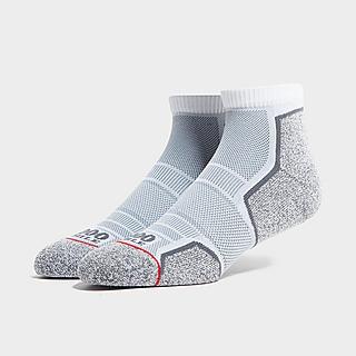 1000 Mile 2-Pack Run Ankle Socks