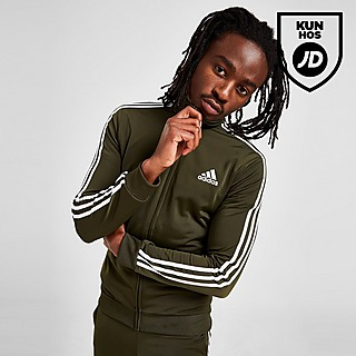 adidas Badge of Sport 3-Stripes Poly Track Top Herre