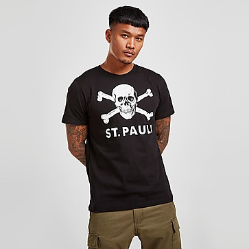 Official Team St. Pauli Skull T-Shirt