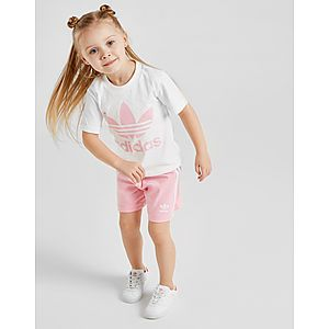 034163174 adidas Originals conjunto Girls  Trefoil para bebé ...