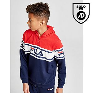 304bb2373 Fila Clyde 1 4 Zip French Terry Hoodie Junior ...