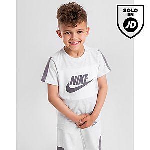 9172343e6 Nike camiseta Colour Block Logo infantil ...