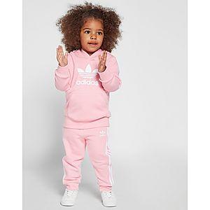 59ec017ee adidas Originals Girls  Adicolour Overhead Tracksuit Infant ...