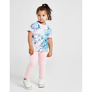 41224130d ... adidas Originals camiseta Girls' Marble All Over Print para bebé