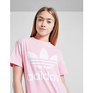 848ea2d91 adidas Originals Girls  Trefoil T-Shirt Junior ...