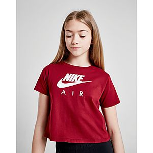 882053e74 ... Nike Air Girls  Crop T-Shirt Junior