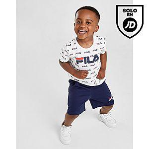 3e97a6eb3 Fila All Over Print T-Shirt Shorts Set Infant ...