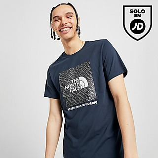 Azul The North Face Camisetas Manga Corta | JD Sports