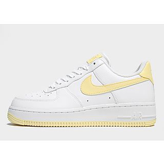 nike air force one jaune femme