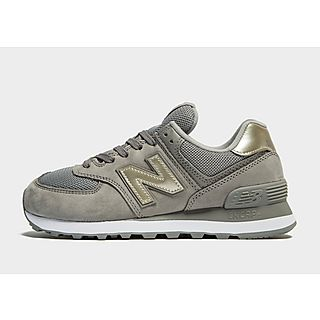 new balance mujer rosa y beige