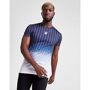 Siksilk Pinstripe Camiseta Camiseta Fade Siksilk Ivmb7yY6gf