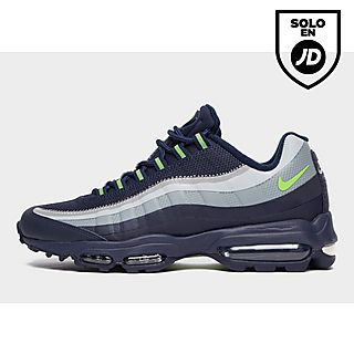 Nike Air Max 95 Premium Zapatillas Running Hombre Negras