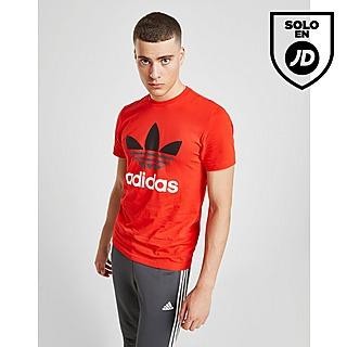 Oferta | Rojo Adidas Originals Camisetas Only Show