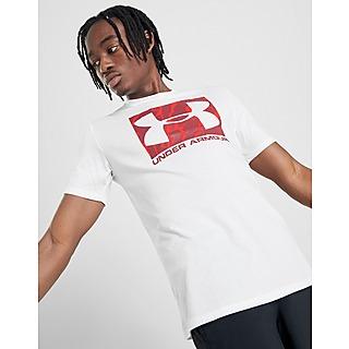 Blanco Under Armour Camisetas Manga Corta | JD Sports