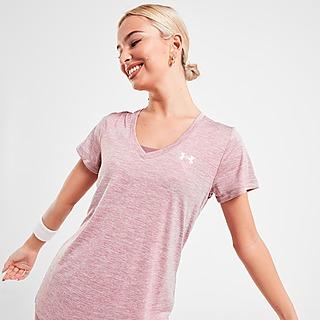 Mujer Rosa Under Armour Camisetas de entrenamiento   JD Sports