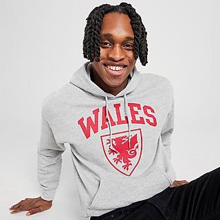 Official Team sudadera con capucha selección de Gales