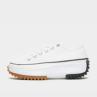 converse leather blancas mujer