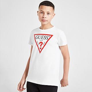 GUESS camiseta Triangle Logo júnior