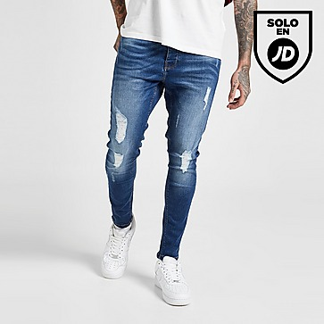 VALERE Skinny Ripped Jeans