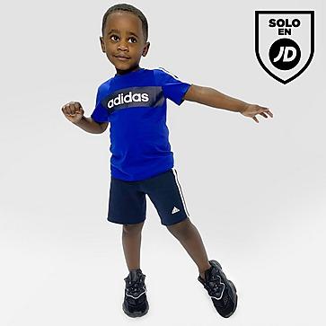 adidas Linear Essential T-Shirt/Shorts Set Infant