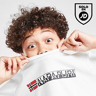 Napapijri camiseta Large Logo júnior