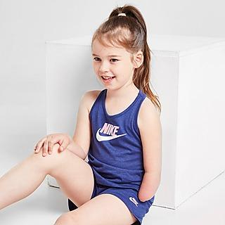 Nike conjunto camiseta de tirantes/pantalón corto Logo infantil