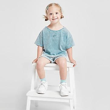 Nike conjunto camiseta/pantalón corto Washed para bebé