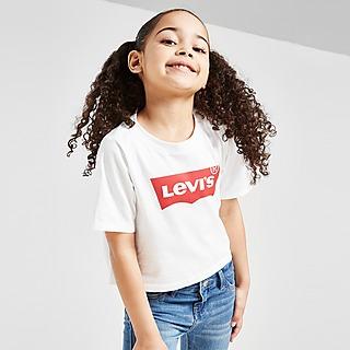Levis camiseta crop Batwing infantil