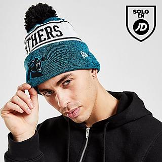 New Era NFL Carolina Panthers Pom Beanie Hat