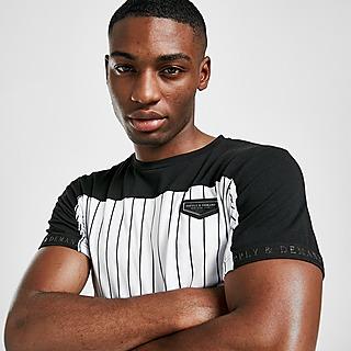 Supply & Demand Duo Pinstripe T-Shirt