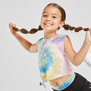 Sonneti conjunto camiseta de tirantes/mallas cortas Mini Rainbow infantil