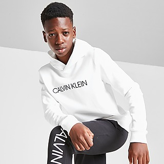 Calvin Klein sudadera con capucha Institutional Logo júnior