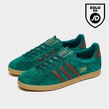 adidas Gazelle Grn/tan/gum$