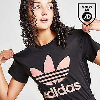 adidas Originals camiseta Trefoil Boyfriend júnior