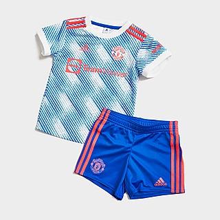 adidas conjunto Manchester United 21/22 2.ª equipación para bebé