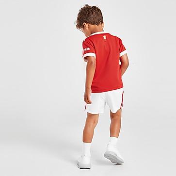 adidas conjunto Manchester United FC 2021/22 1. ª equipación para bebé