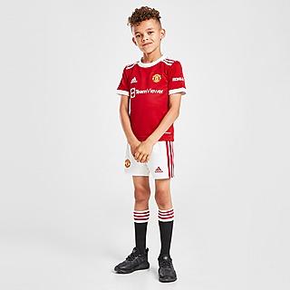 adidas conjunto Manchester United FC 2021/22 1. ª equipación infantil