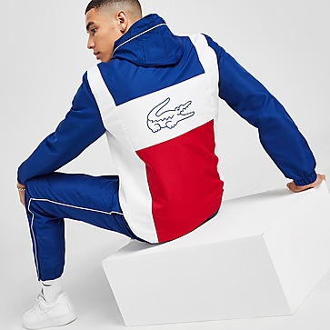Lacoste Vertical Panel Hooded Tracksuit