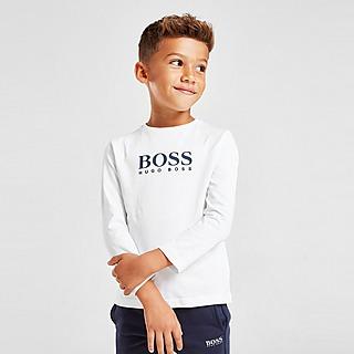 BOSS Large Logo Long Sleeve T-Shirt Children