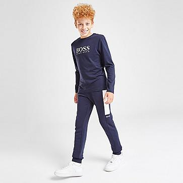 BOSS pantalón de chándal Essential júnior