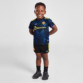 adidas conjunto Manchester United FC 2021/22 3.ª equipación para bebé