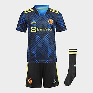 adidas conjunto Manchester United 2021/22 3.ª equipación infantil