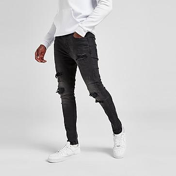 Supply & Demand pantalón vaquero Shiny Black Wash