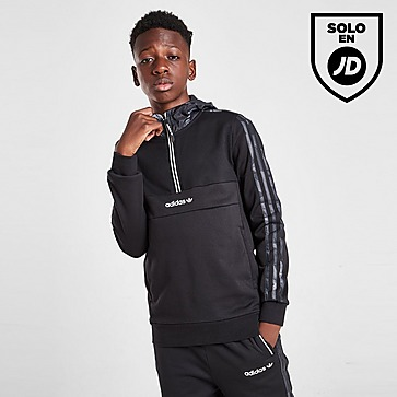 adidas Originals sudadera Camo Mixed Fabric júnior